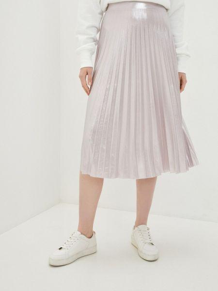 Плиссированная юбка розовая весенняя Imperial