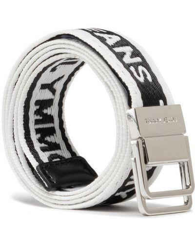 Biały pasek z paskiem Tommy Jeans