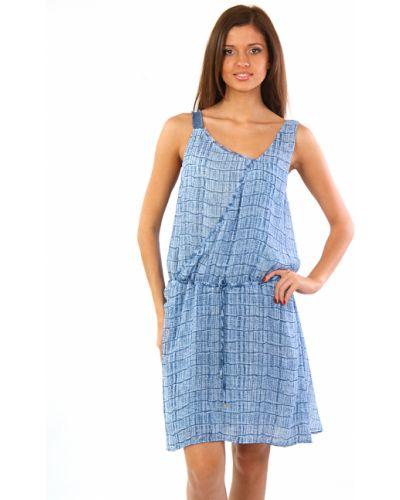 Платье шелковое весеннее Trussardi Jeans