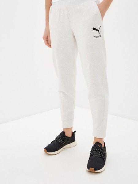 Спортивные брюки белые весенний Puma