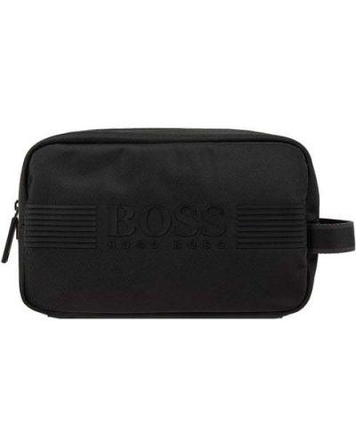 Czarna kosmetyczka Boss