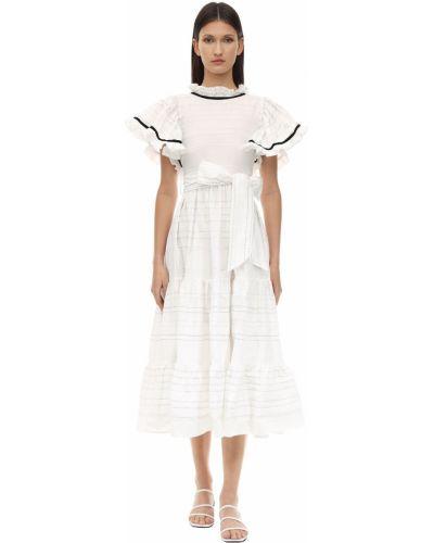 Платье мини миди с поясом Lug Von Siga