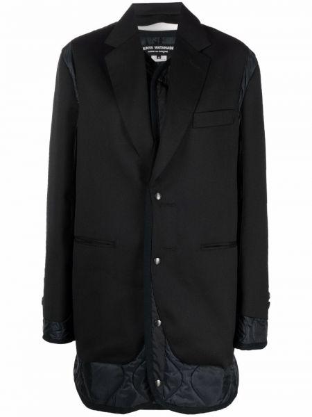Черное нейлоновое пальто Junya Watanabe