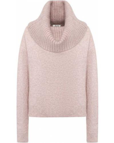 Вязаный свитер объемный шерстяной Acne Studios