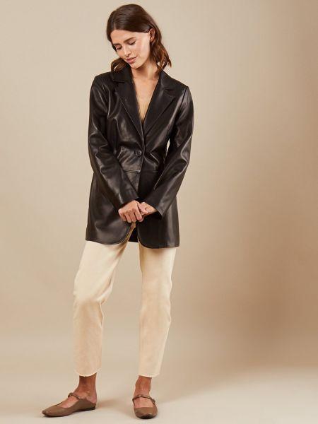 Пиджак кожаный 12storeez