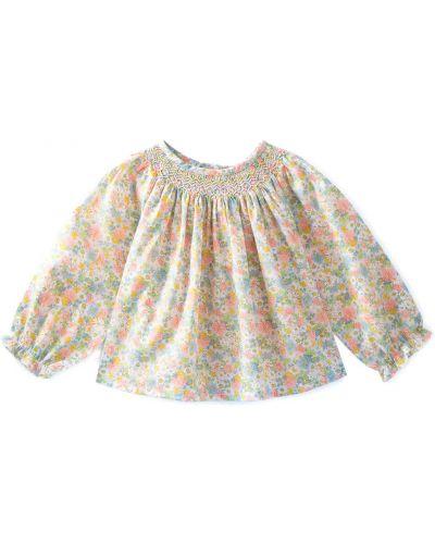 Розовая блузка Bonpoint
