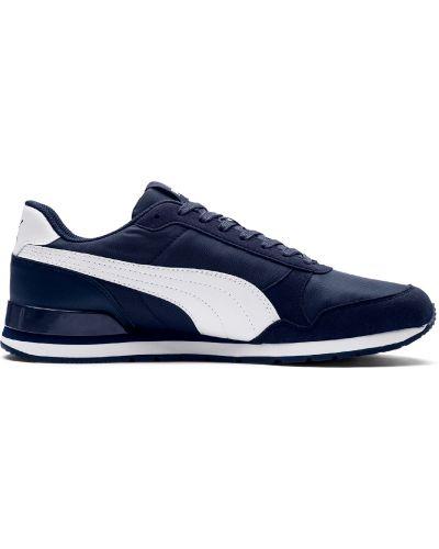 Кожаные кроссовки - черные Puma