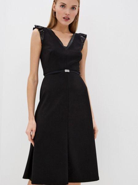 Повседневное платье черное весеннее Lauren Ralph Lauren