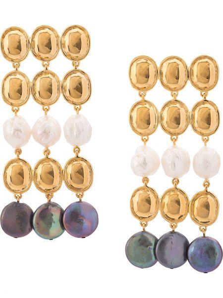 Серьги круглые Lizzie Fortunato Jewels