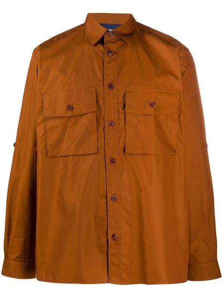 Koszula z długim rękawem klasyczna prosto Paul Smith