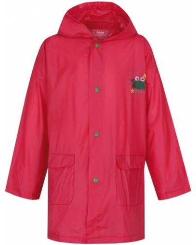 Różowy płaszcz przeciwdeszczowy materiałowy Loap