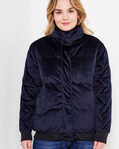 Утепленная куртка осенняя бархатная Lost Ink Plus