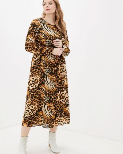 Повседневное платье осеннее Zizzi