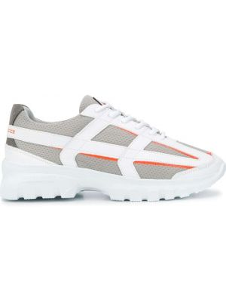 Skórzane sneakersy białe z siatką Filling Pieces