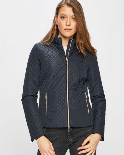 Стеганая куртка с капюшоном укороченная Geox