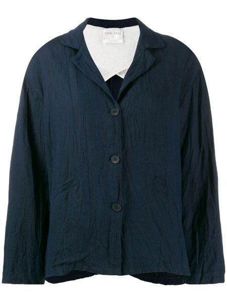 Синяя куртка Forte Forte