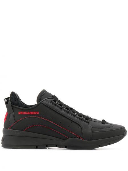 Sneakersy z logo Dsquared2