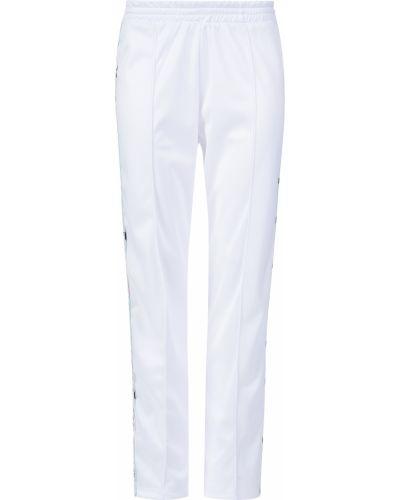 Спортивные брюки из полиэстера - белые Forte Couture