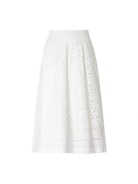 Biała spódnica rozkloszowana Riani
