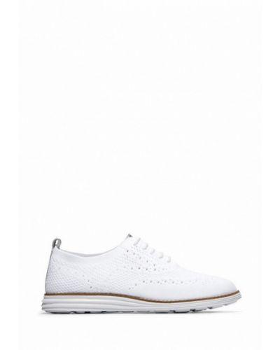 Кожаные ботинки - белые Cole Haan
