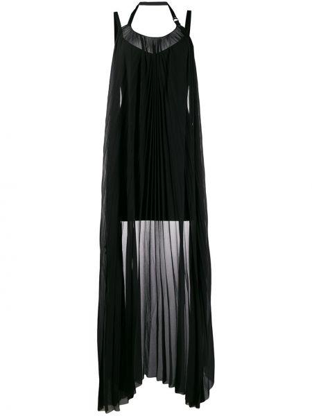 Платье мини с открытой спиной - черное Diesel Black Gold