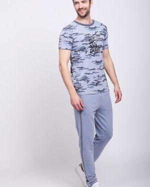 Спортивные брюки с карманами с поясом Pezzo