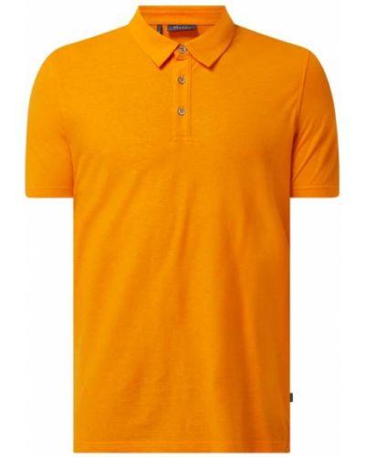 Pomarańczowy t-shirt bawełniany Maerz Muenchen
