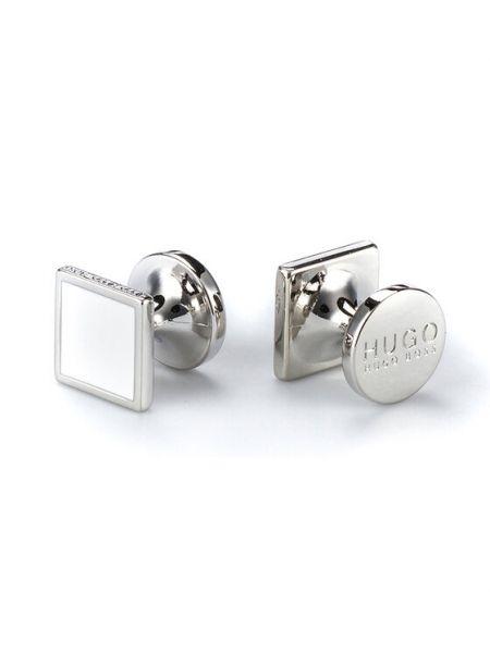Spinki do mankietów srebrne Hugo