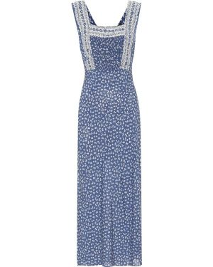 Летнее платье макси с цветочным принтом Polo Ralph Lauren