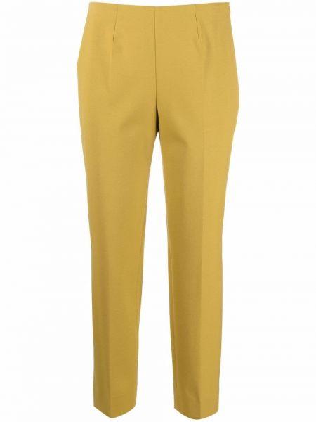 Зеленые шерстяные брюки Piazza Sempione