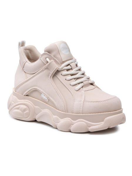Sneakersy - beżowe Buffalo