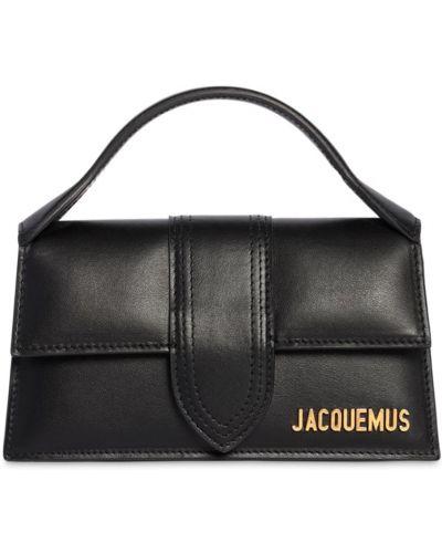 Кожаная сумка с карманами Jacquemus