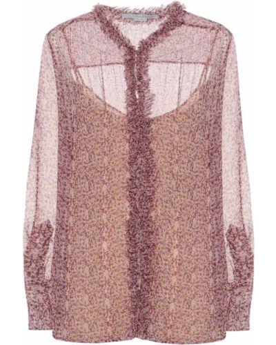Блузка розовая батник Stella Mccartney