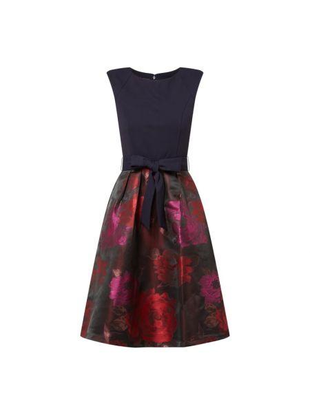 Sukienka koktajlowa rozkloszowana bawełniana Apart Glamour