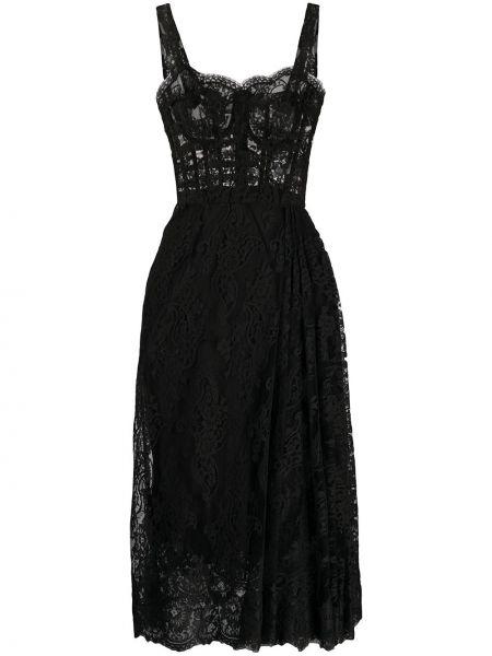 Платье миди модерн платье-солнце Dolce & Gabbana