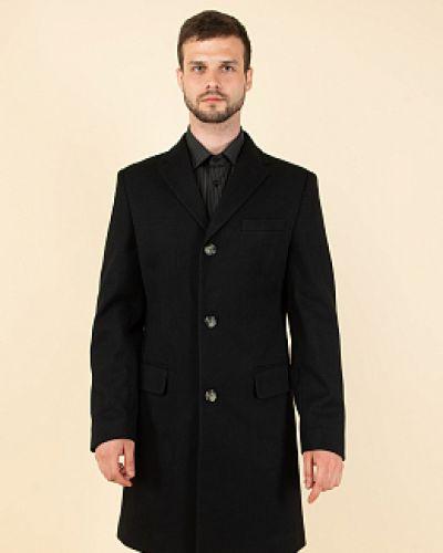 Синее драповое пальто каляев