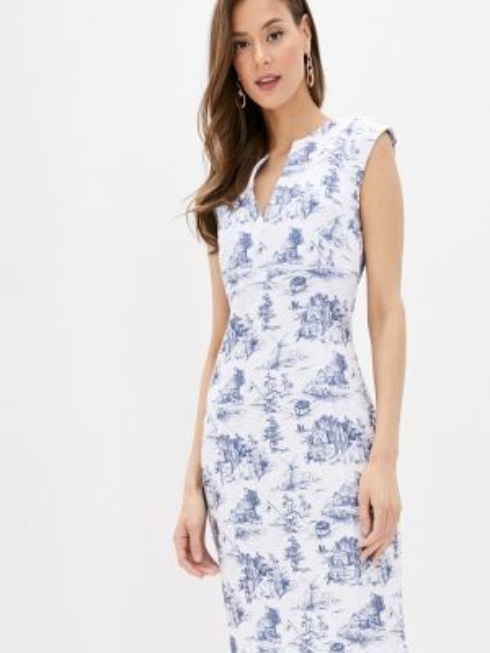 Платье прямое весеннее Fashion.love.story