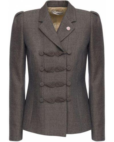 Шерстяная куртка - серая Lardini