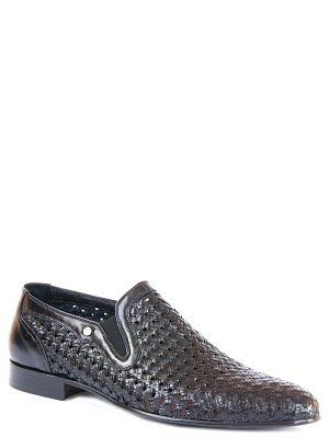 Кожаные туфли - черные Zilli