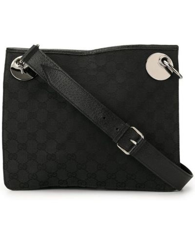 Сумка на плечо черная Gucci Vintage