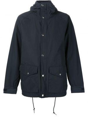 Нейлоновая синяя куртка 321