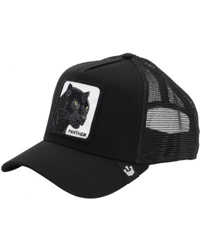 Kapelusz z logo czarny Goorin Bros