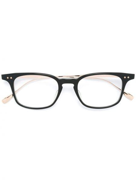 Czarna złota oprawka do okularów Dita Eyewear