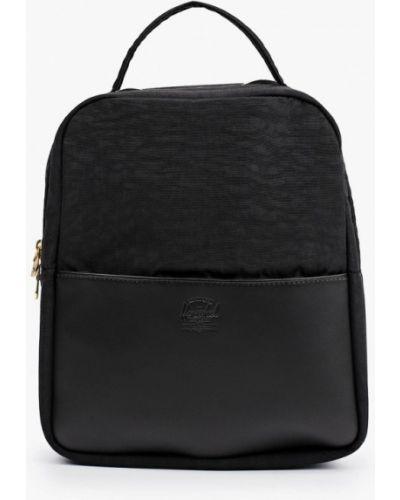 Кожаный рюкзак - черный Herschel Supply Co