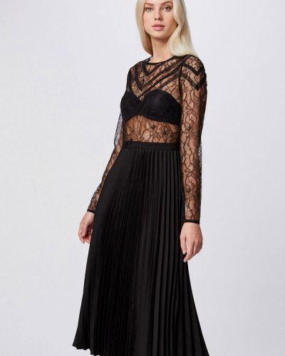 Черное вечернее платье Morgan