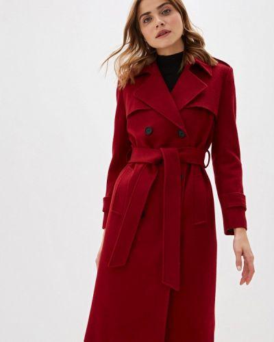 Пальто бордовый пальто Trendyangel