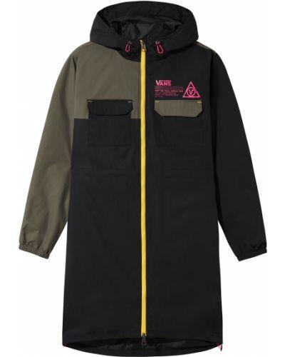 Нейлоновая длинная куртка с подкладкой Vans