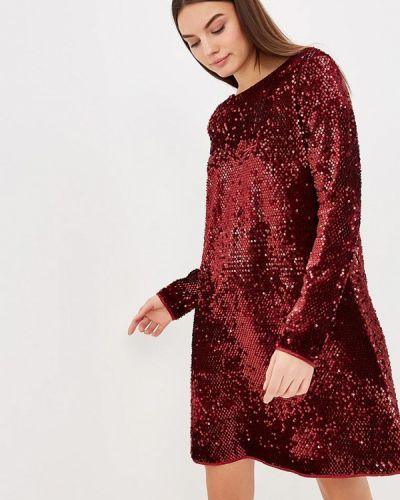 Вечернее платье бордовый красный Ribbon