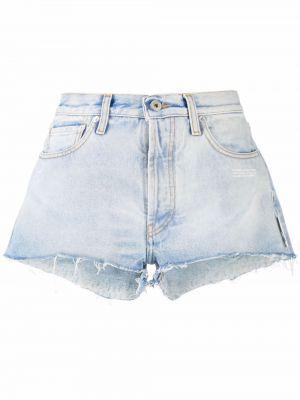 Джинсовые шорты классические - белые Off-white