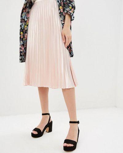 Плиссированная юбка розовая Silvian Heach